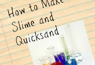 slime and quicksand