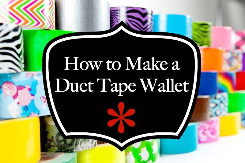 image relating to Duct Tape Wallet Instructions Printable identified as How in the direction of Produce a Duct Tape Wallet - Marvel Monster