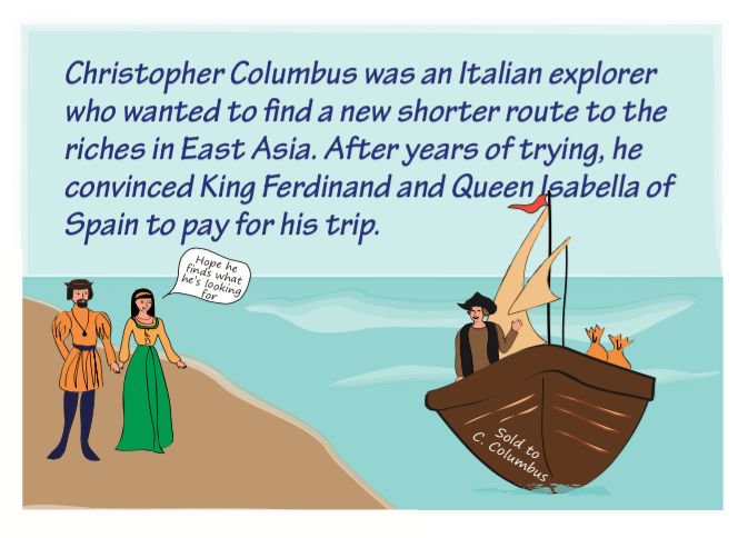 the flat earth myth of christopher columbus What is the myth about the flat earth washington irving portrayed christopher columbus as a simple mariner who had to believed that the earth was flat is.