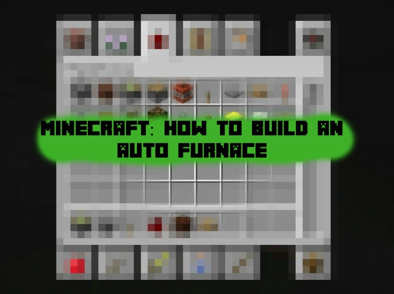 Minecraft how to make an auto furnace ponder monster for How to craft a furnace in minecraft