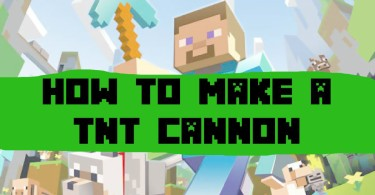 minecraft tnt cannon