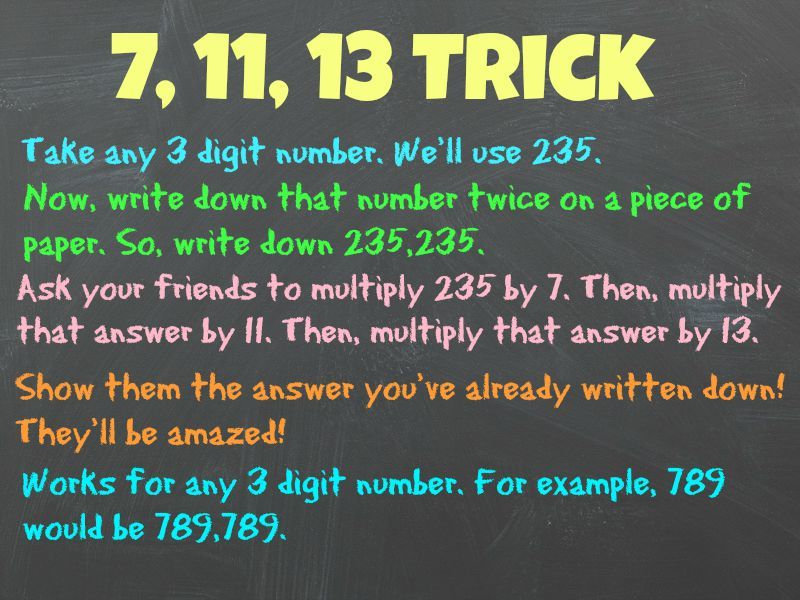 13 Simple Math Hacks Your Teachers Never Taught You