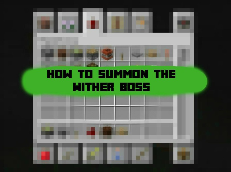 minecraft wither boss