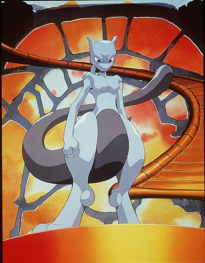 Mewtwo In The Animated Movie Pokemon:The First Movie Photo Pikachu Projects