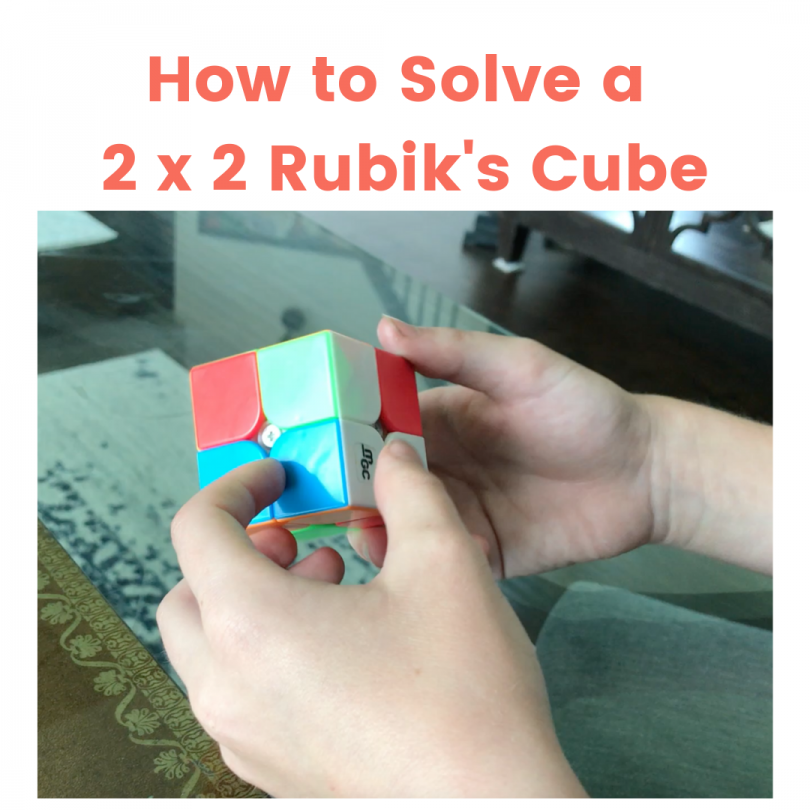 How to Solve a 2 x 2 Rubik's Cube (1)